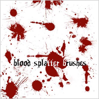 Free-Blood_Photoshop-Splatter_Brushes_download