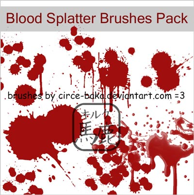 Free-Blood_Splatter_Brushes_Pack