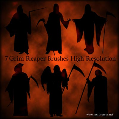 Free-Halloween-Grim_Reaper_Brushes