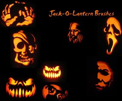Free-Halloween-Jack_o_Lantern_Brushes