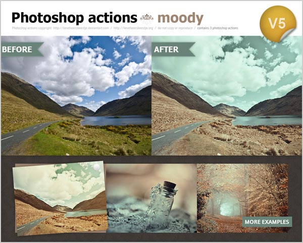 Free Hazy Sea Green photoshop actions Photo Effect 30 High Quality Free Photoshop Actions For Amazing Photo Effects