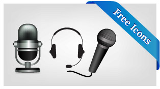 Free-MIC-Sound-Volume-Icon-Set-PNGs