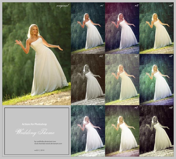 Free-Photoshop-Actions-For-Wedding-Photographers