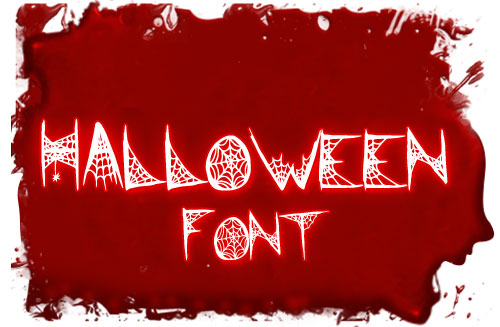Free-Scary-Horror-Spider-Font-2012