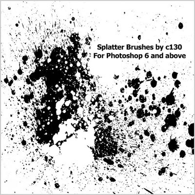 Free-Splatter-Photoshop-Brushes