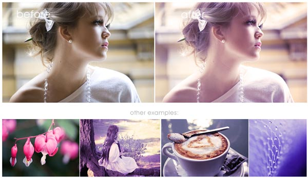 Free purple haze photoshop action  30 High Quality Free Photoshop Actions For Amazing Photo Effects