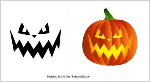 image regarding Pumpkin Faces Printable named Halloween Cost-free Overwhelming Pumpkin Carving Models 2012 10