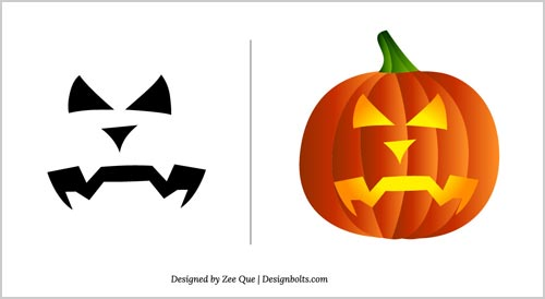 Halloween free scary pumpkin carving patterns 2012 10 Architecture pumpkin stencils