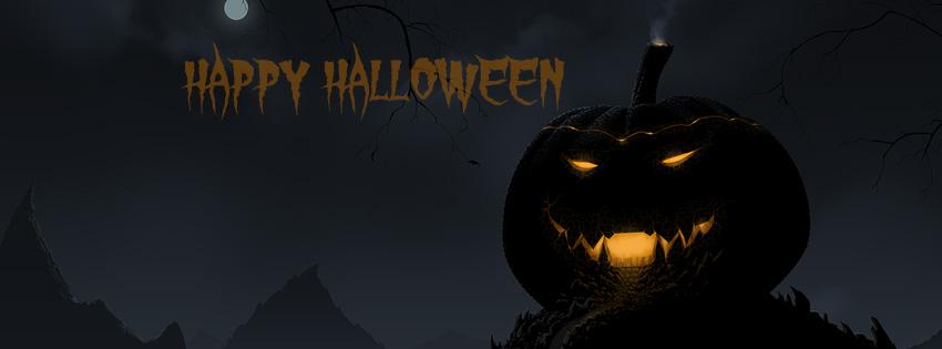 25+ Happy Halloween 2012 Facebook Timeline Cover Photos