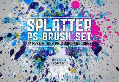 Hi_Res_Paint_Splatter_Photoshop_Brushes_Set_Free_Download