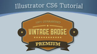 Learn-How-to-Design-Premium-Vintage-Badge-In-Illustrator-CS6-Tutorial-for-Beginners