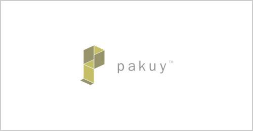 Pakuy-packaging-solution-logo-design