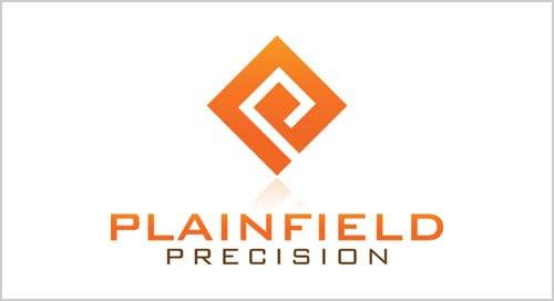 Plainfield-Precision-packaging-logo-design