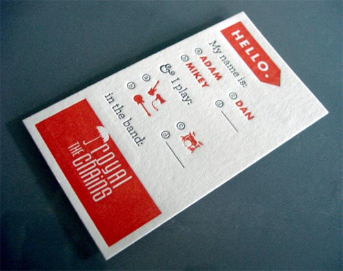 25 beautiful cool letterpress business card design for inspiration cool letterpress business card design colourmoves Gallery