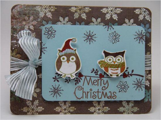20 Beautiful Diy Amp Homemade Christmas Card Ideas For 2012