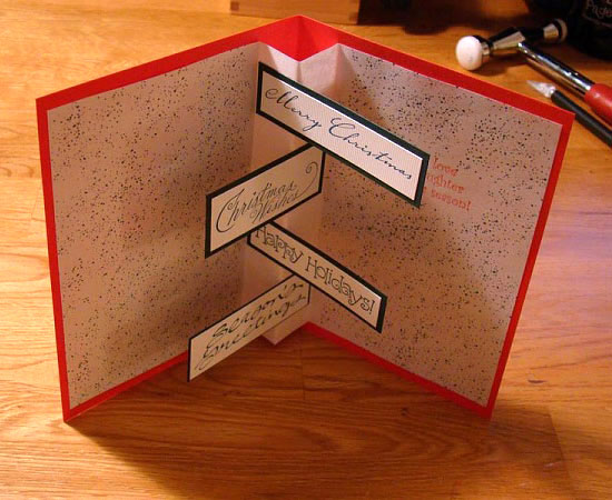 20 beautiful diy homemade christmas card ideas for 2012