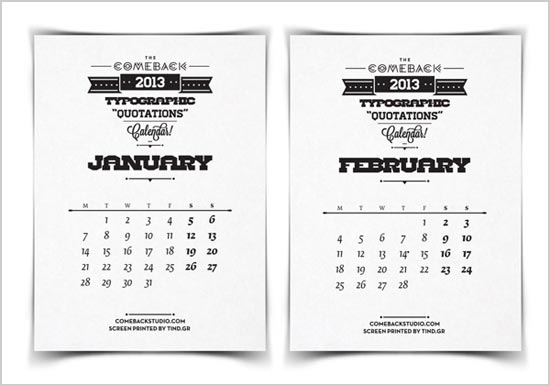 Beautiful-Calendar-2013-Typography-Quotes-3
