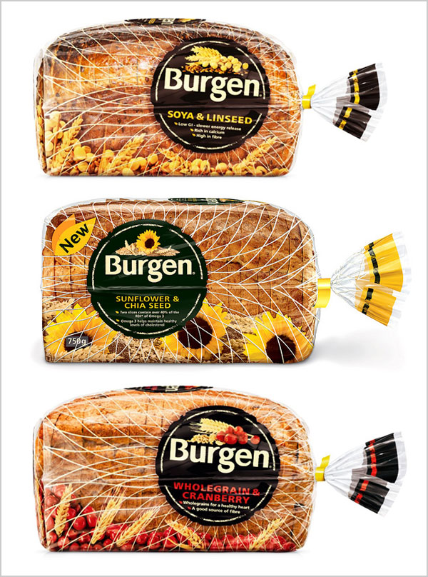 Burgen-Soya-linseed-Bread-Packaging