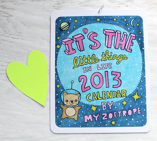 Cute-2013-Calendar-design-idea