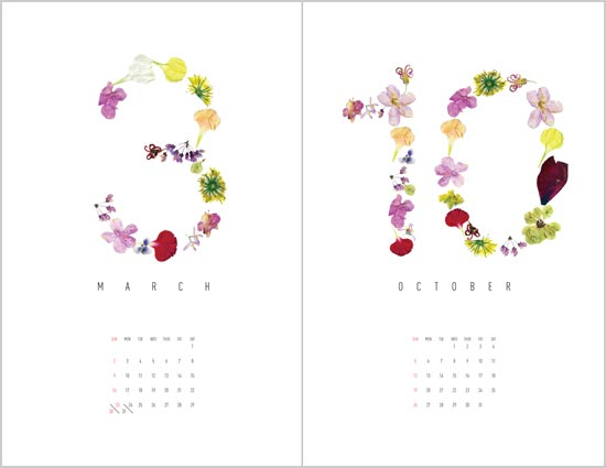 Flower-Calendar-2013-design-idea