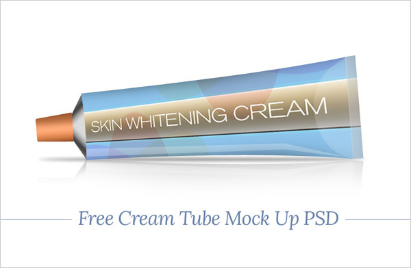 Free-Skin-Whitening-Cream-Tube-Mock-Up-PSD