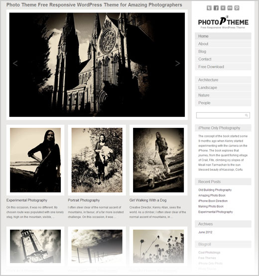Free-Photo-Theme-Responsive-WordPress-Theme-for-photographers