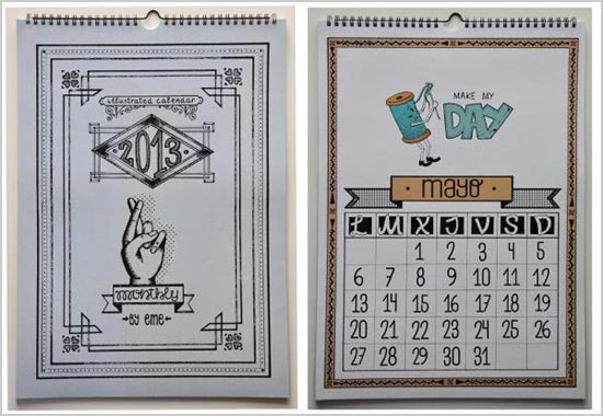 Illustrations-2013-Calendar-Design-idea-2