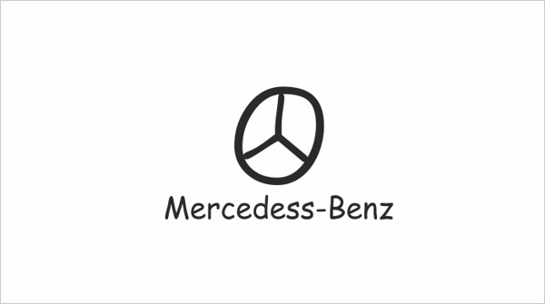 Mercedess-Bens-logo-in-comic-sans-font