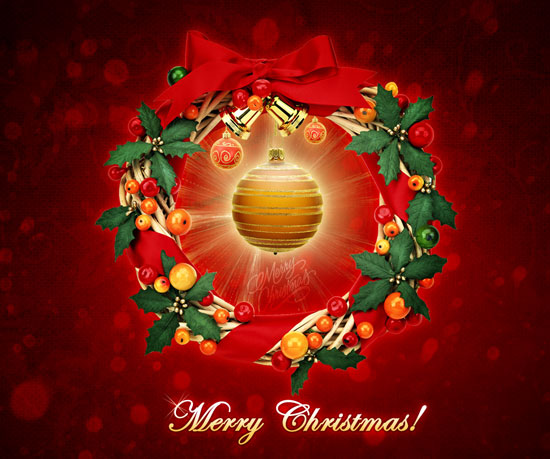 Merry_Christmas_Wreath-Wallpaper-HD-2012