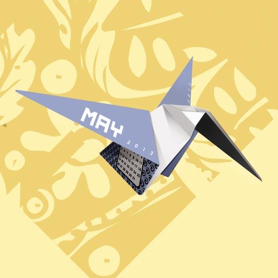 Origami-2013-Calendar-design-2