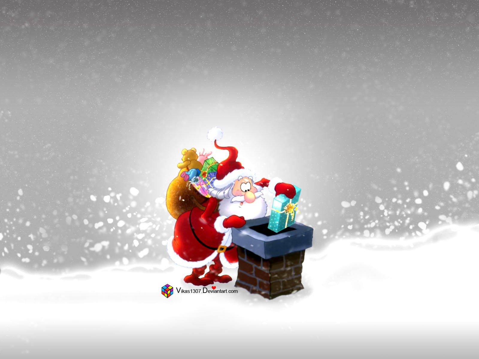 Santa Claus Wallpaper HD