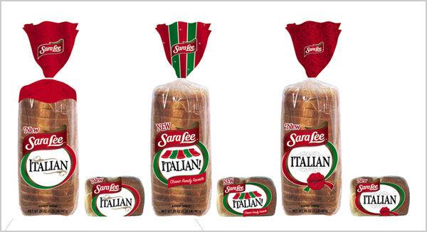 sara lee bread packaging design ideas