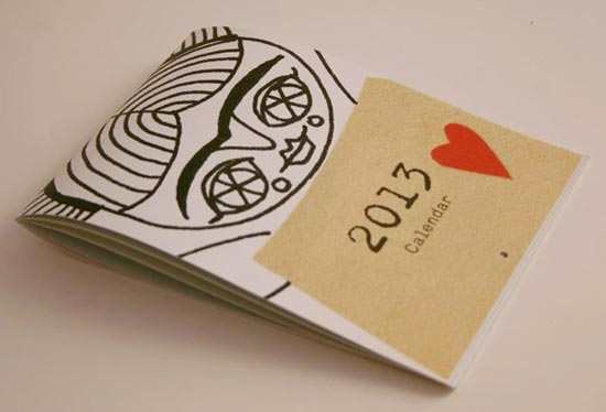 Simple-yet-cute-calendar-2013