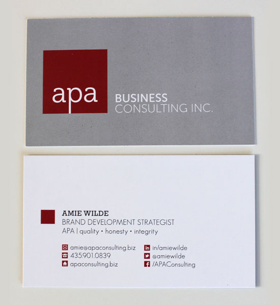 Social-Media-icons-Business-card-design