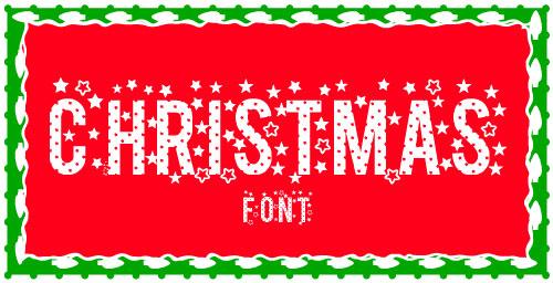 Stars-TFB-Font-For-Christmas-2012