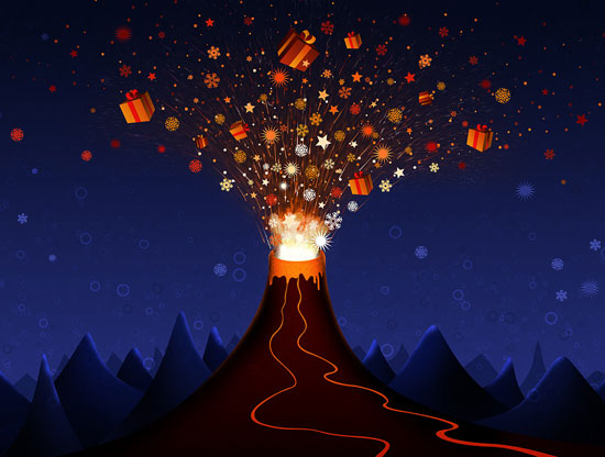 Volcano-Christmas-Gifts-Wallpaper-2012