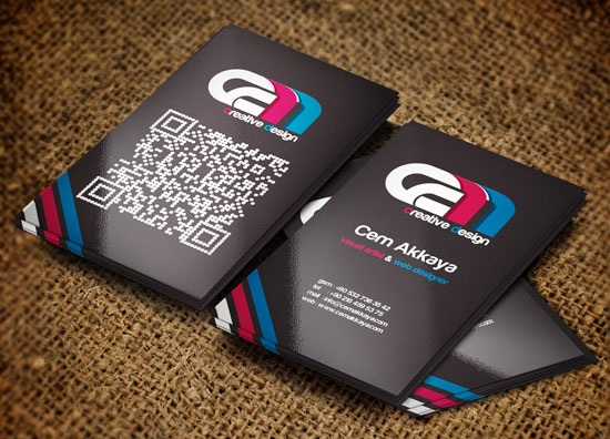 business_card_with-qr-code