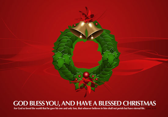 free-Christmas-Wreath-Wallpaper-HD