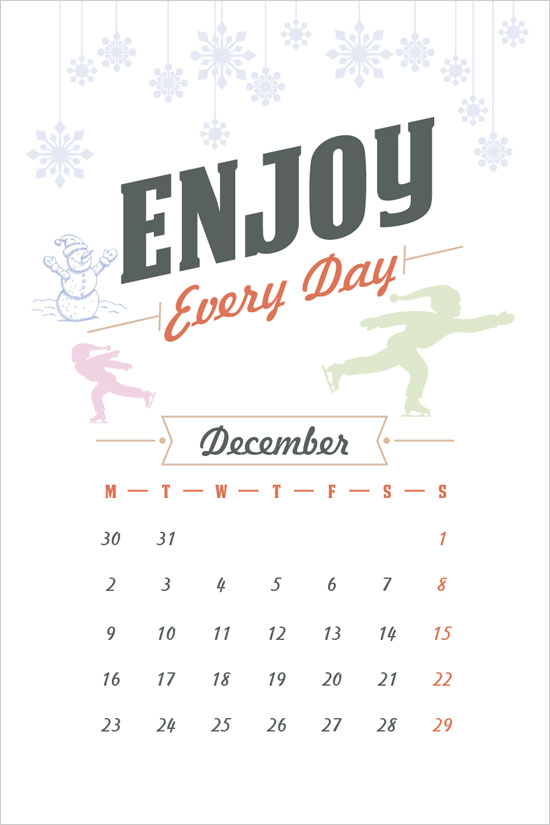 free-december-calendar-for-2013