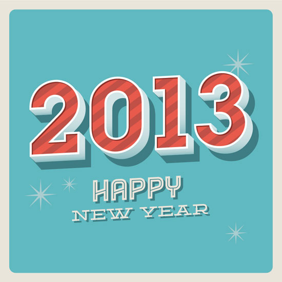 2013-happy-new-year-typography