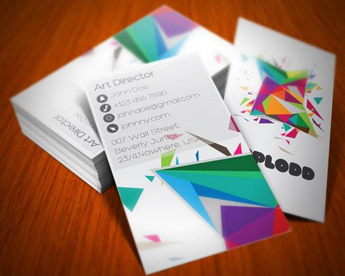 Art director business card design Steps Which Help You To Design Memorable Business Cards