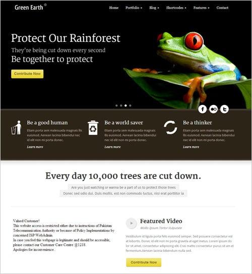 Beautiful-Green-Earth-Environmental-WordPress-Theme-2013