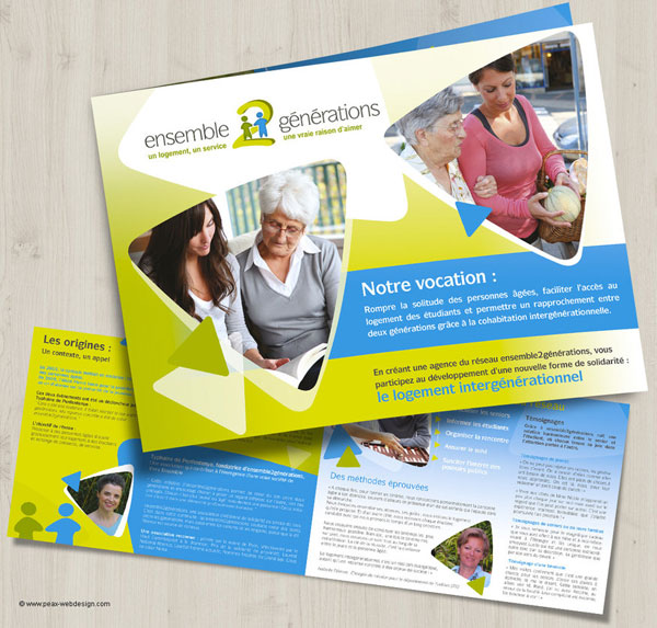 20+ New Beautiful Corporate Brochure Design Ideas / Examples