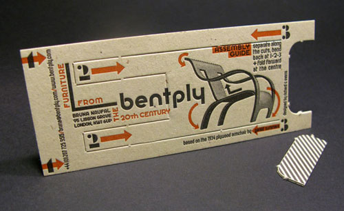 Bentply Furniture Creative Business card design 3 Steps Which Help You To Design Memorable Business Cards
