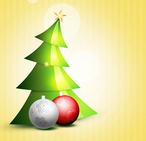 Christmas-Background-with-christmas-tree-photoshop-cs6-tutorial