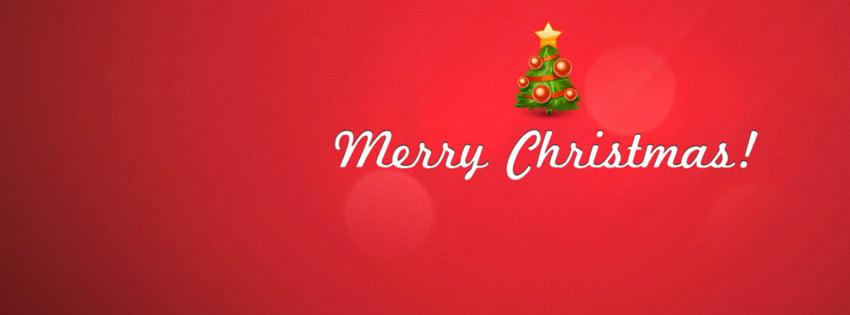 Christmas Tree Fb cover photo
