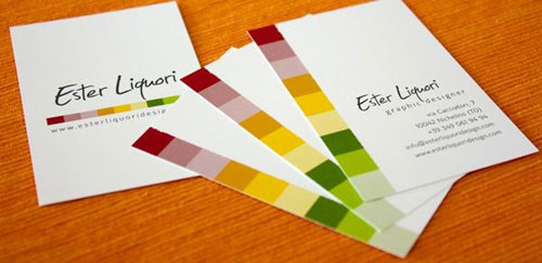 Colorful business cards Steps Which Help You To Design Memorable Business Cards