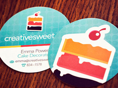 Creative Sweet Business Card design Steps Which Help You To Design Memorable Business Cards