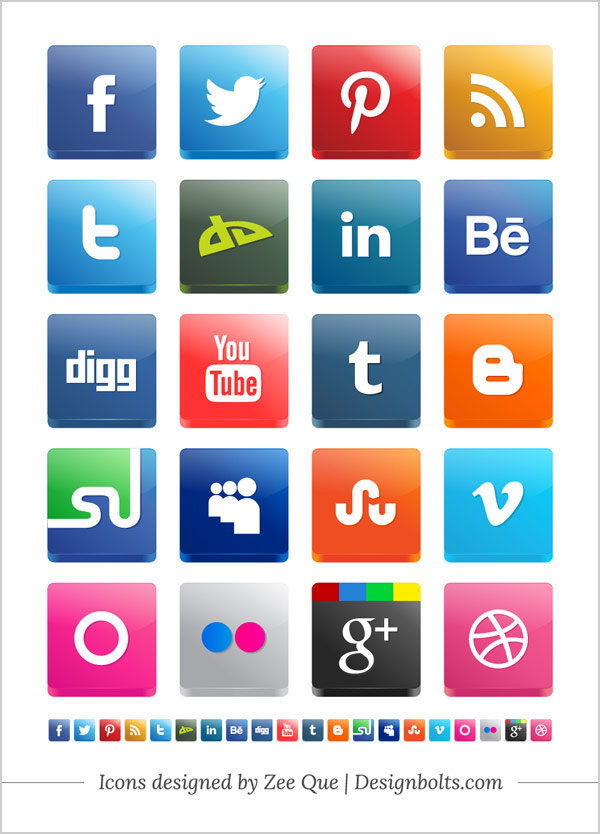 Free-Vector-3d-Social-Media-Icons-Pack-2013-New-Twitter-StumbleUpon-Pinterest