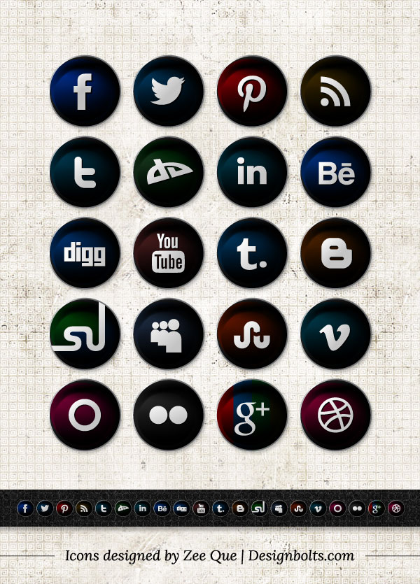 Free-Vector-Round-Black-Social-media-icons-2013